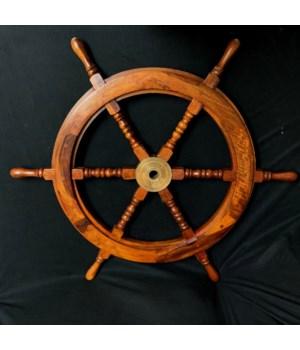 """30"""" SHIP WHEEL"""