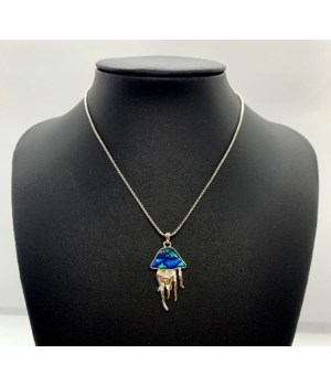 BOLO JELLYFISH NECKLACE