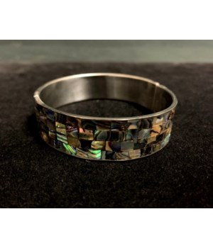 PAUA INLAY BRACELET 17mm