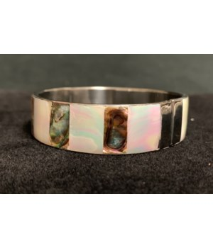 PAUA/MOP BANGLE
