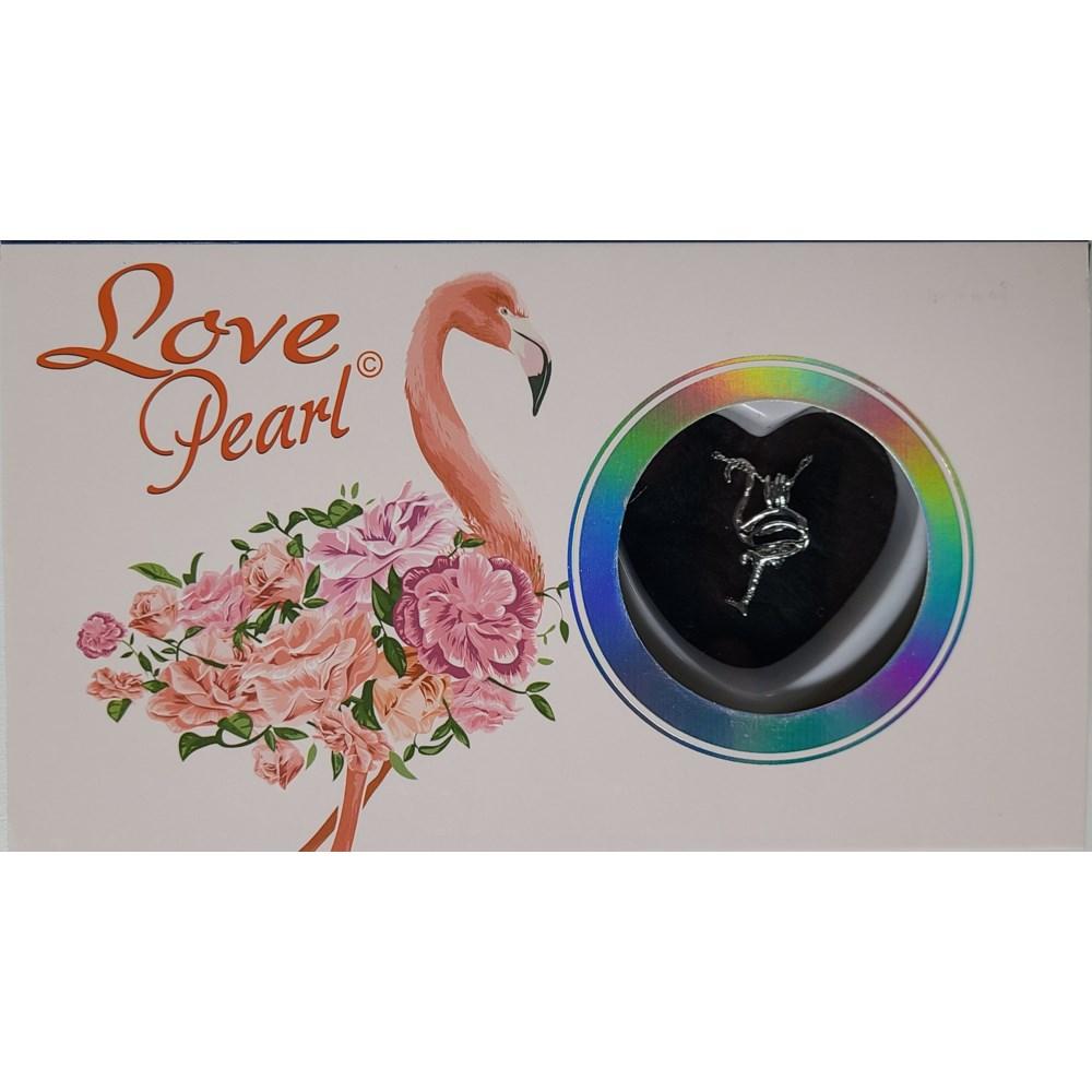 FLAMINGO LOVE PEARL NECKLACE