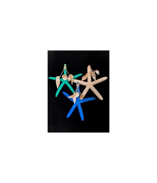 STAR W/ SHELL DANGLE