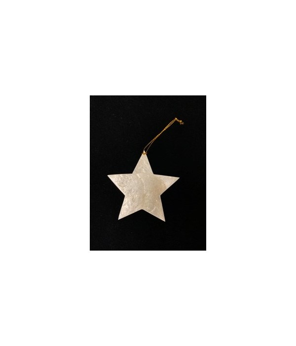CAPIZ CHRISTMAS STAR