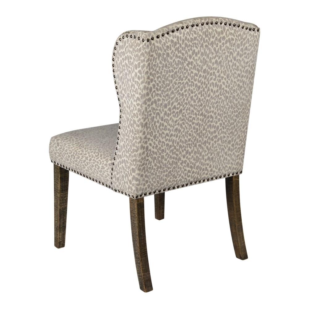 -Savannah Dining Chair (Snow Leopard)