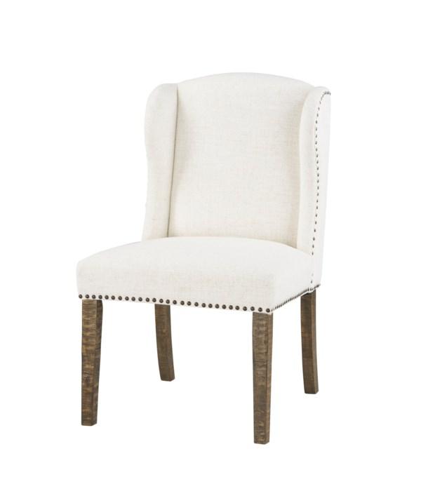 -Savannah Dining Chair (Cotton Boll)