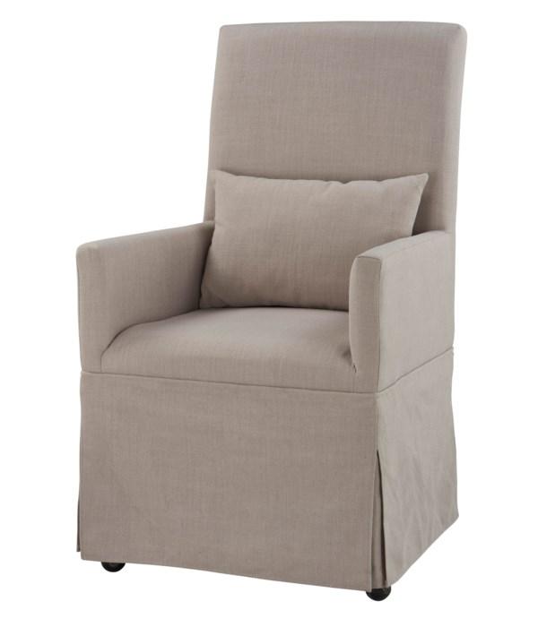 -Margaret Dining Chair (Grey)