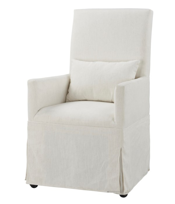 -Margaret Dining Chair (Washable White)