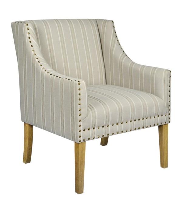 -*Branson Chair (Stripe)