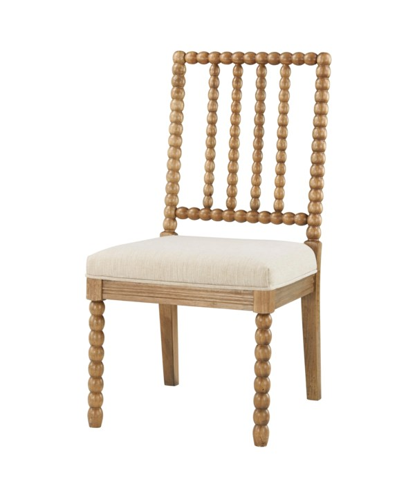 -Bryce Side Chair (French Linen)