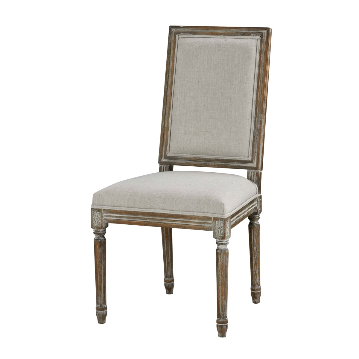 -Square Maxwell Side Chair (Grey)