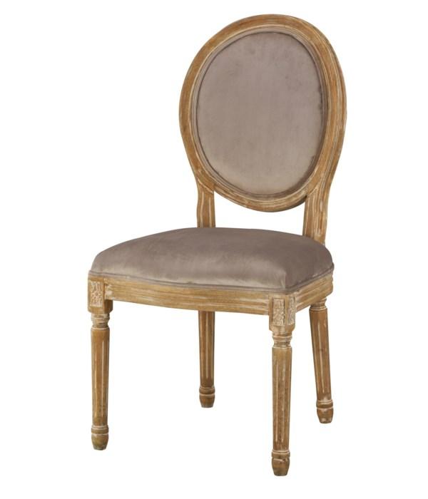 -Round Maxwell Side Chair (Chantel Ash)