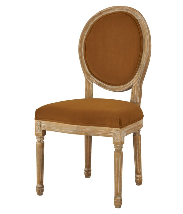 -Round Maxwell Side Chair (Harvest)