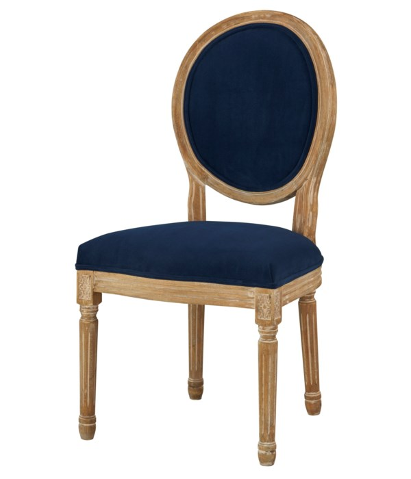 -Round Maxwell Side Chair (Ink)