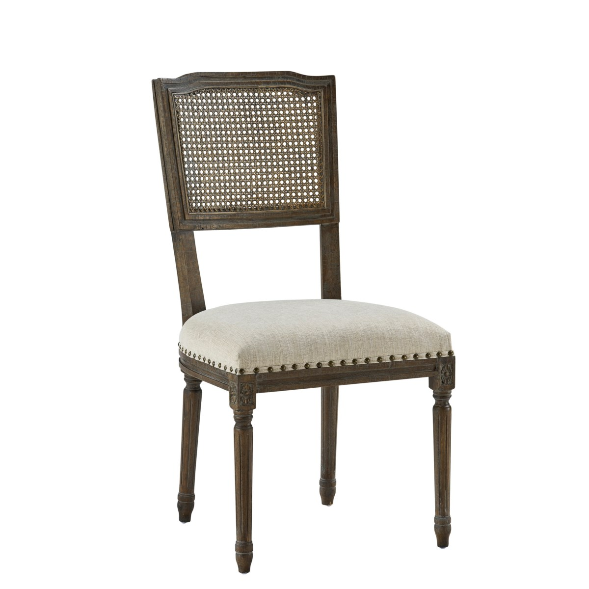-Camille Side Chair (French Linen)