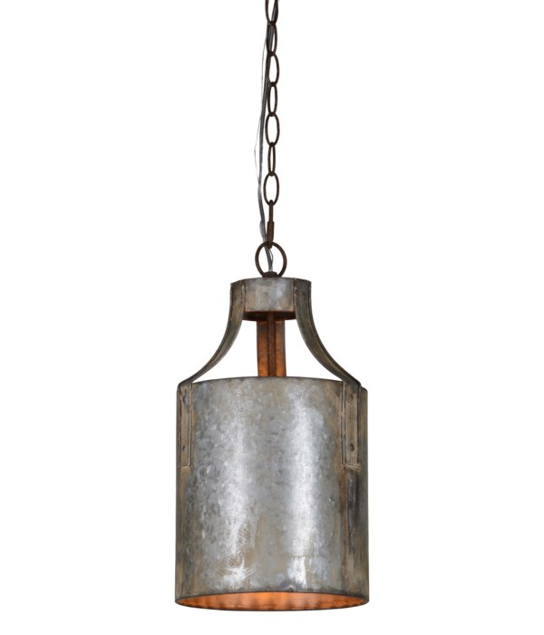 Darcy 1-Lt Metal Pendant