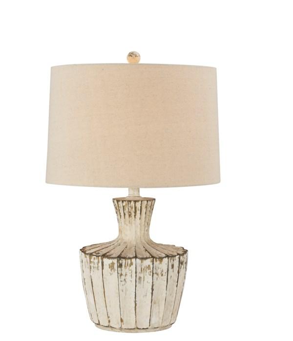 JADA TABLE LAMP (WHITE)