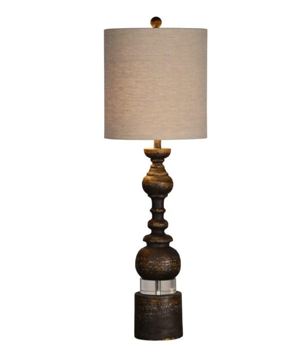 ELISE BUFFET LAMP (BLACK)
