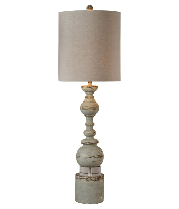 ELISE BUFFET LAMP (GRAY)