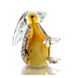 Art Glass Brown Bunny