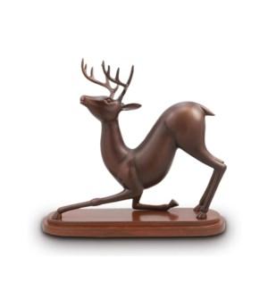 Stretching Deer Desktop Decor