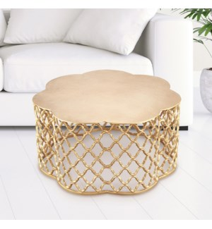 Honeycomb Pattern End Table