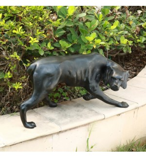Pensive Pooch Sculpture