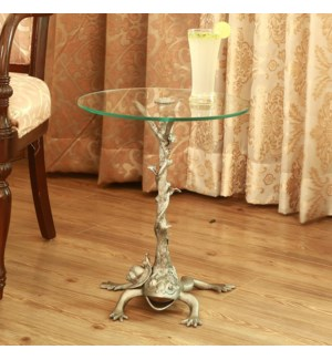 Frog Branch and Vine End Table