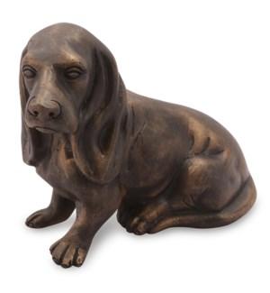 Hound Puppy Sculpture