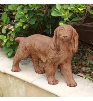 Retriever Puppy Sculpture