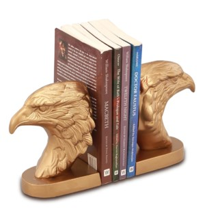 Eagle Head Bookends
