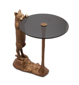 Curious Cat End Table