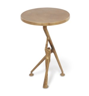 Supportive Man End Table