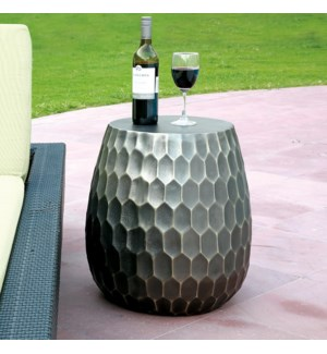 Honeycomb Pattern Garden Stool