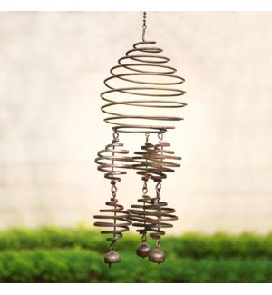 Coiled Wind Decor With Bells
