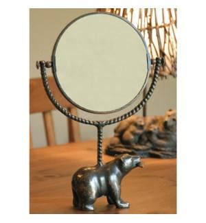 Bear and Fish Mirror