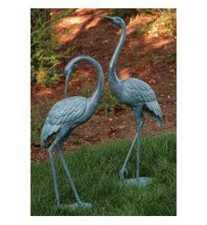 Medium Garden Crane Pair