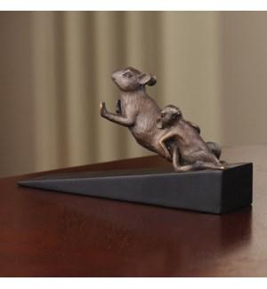 Pushing Mice Doorstop