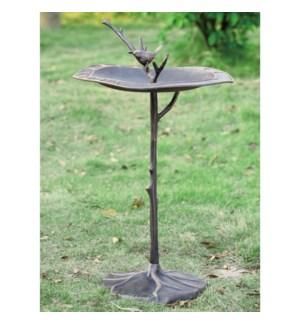 Bird on Branch Sundial / Birdbath
