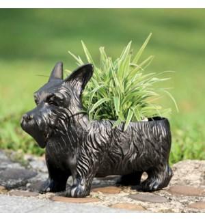 Scottie Dog Planter Box