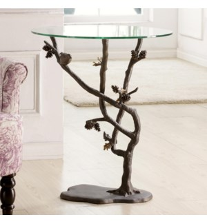 Bird and Pinecone Table