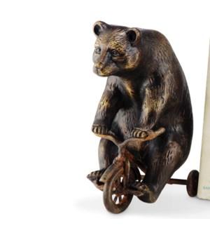 Bear on Trike Paperweight