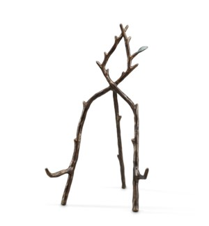 Tall Branch and Leaf Easel