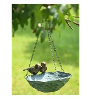 Bird and Nest Hanging Birdfeeder