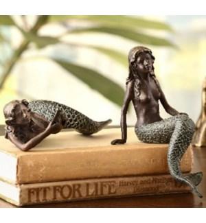 Mermaid Shelf Sitters Set of 2
