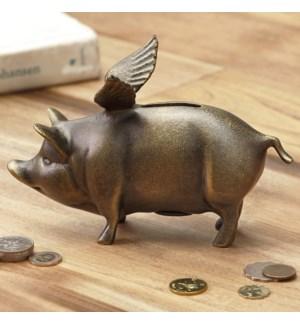Winged Wonder Piggy Bank