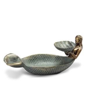 Mermaid and Shell Ring/Soap Dish