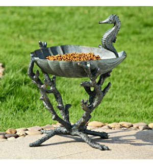 Seahorse Birdbath / Birdfeeder