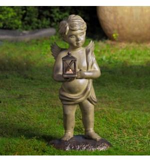 Cherub Garden Lantern