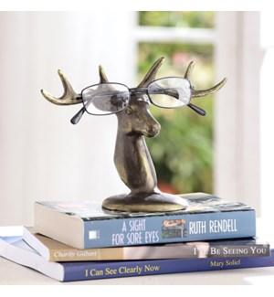 Deer Bust Eyeglass Stand