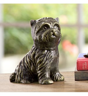 Aggie the Pup Paperweight Dog